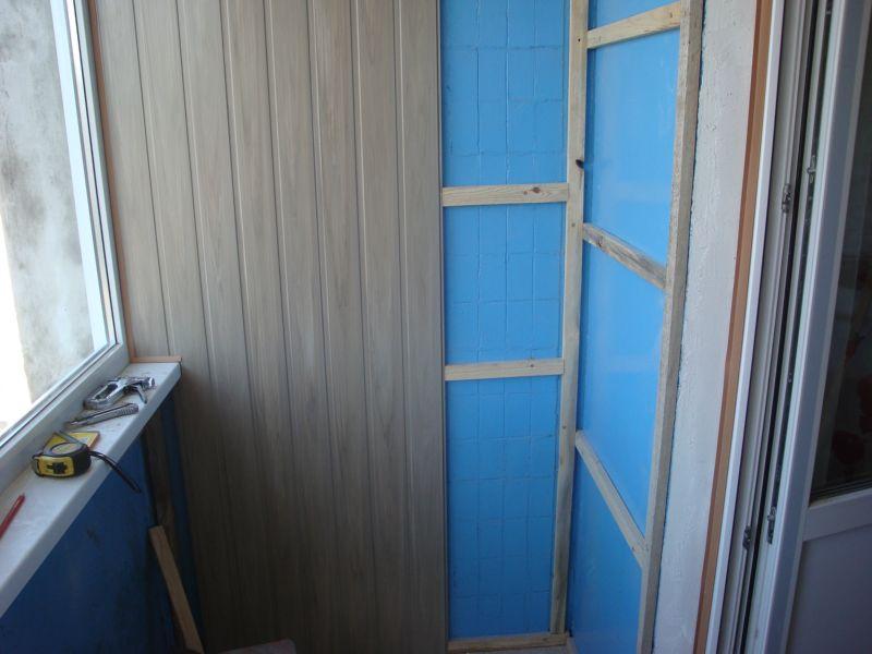 Внутрення обшивка балкона, цена на отделку - балко.