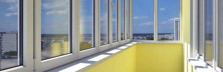 Остекление балконов, застеклить балкон и лоджию в киеве по н.